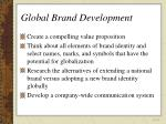 global brand development42