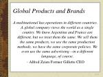 global products and brands32