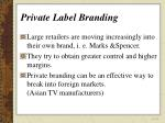 private label branding