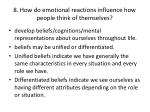 8 how do emotional reactions influence how people think of themselves