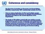 coherence and consistency