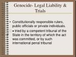genocide legal liability trials