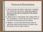 universal declaration25