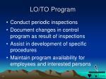 lo to program1