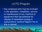 lo to program2