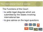the international court of justice15