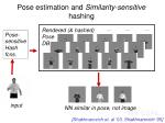 pose estimation and similarity sensitive hashing