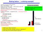 risking failure a shining example
