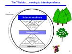 the 7 habits moving to interdependence