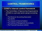 control frameworks14