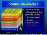 control frameworks21