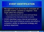 event identification28