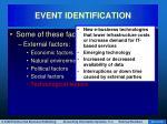 event identification29