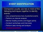 event identification31