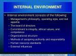 internal environment23