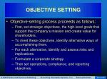 objective setting26