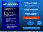 risk assessment and risk response34