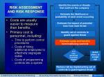 risk assessment and risk response35