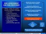 risk assessment and risk response36