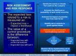 risk assessment and risk response37