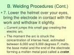 b welding procedures cont91