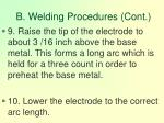 b welding procedures cont95