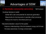 advantages of ssw26