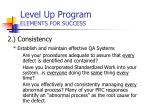 level up program elements for success34
