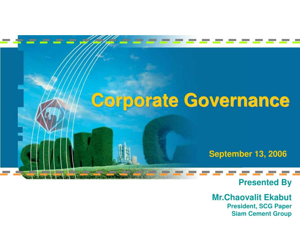 corporate governance l.