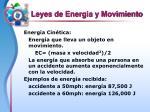 leyes de energia y movimiento5