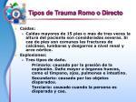 tipos de trauma romo o directo11