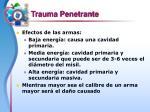 trauma penetrante25