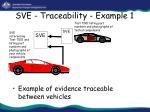 sve traceability example 1