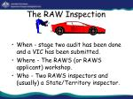 the raw inspection27
