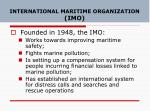 international maritime organization imo