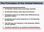 the principles of the united nations
