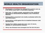 world health organization24