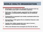 world health organization24