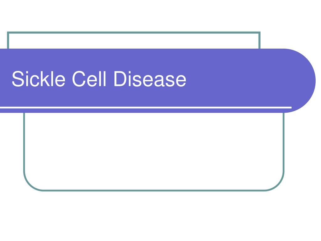 sickle cell disease l.