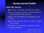 hurricane survival checklist4