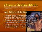 5 stages to christian maturity14