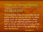 5 stages to christian maturity20