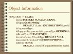 object information14