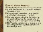 earned value analysis12