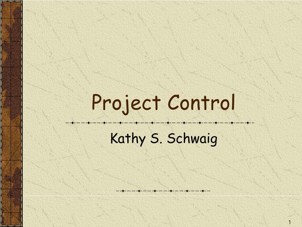 project control l.