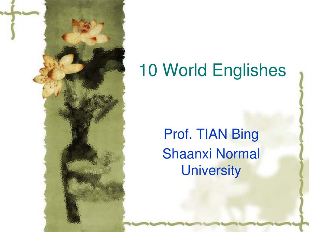 10 world englishes l.