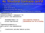 4a structural contracts cont d