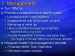 7 management