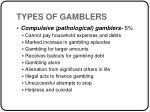 types of gamblers12