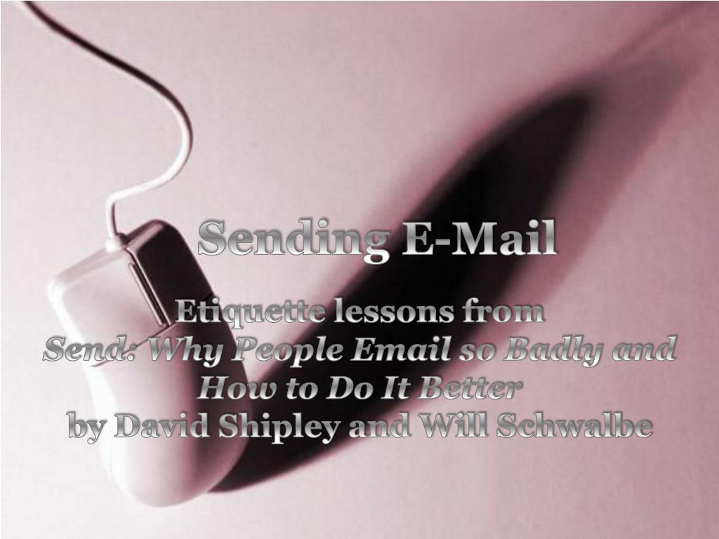 sending e mail l.